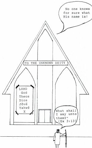 church of unknow deity